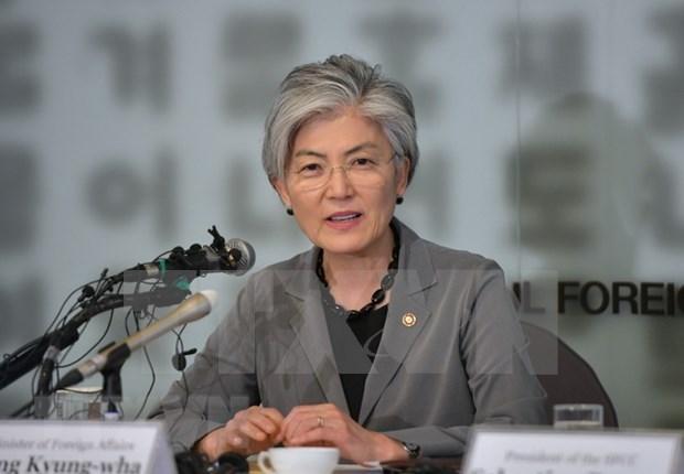 Firman la ASEAN y Corea del Sur documento sobre cooperacion para el desarrollo hinh anh 1