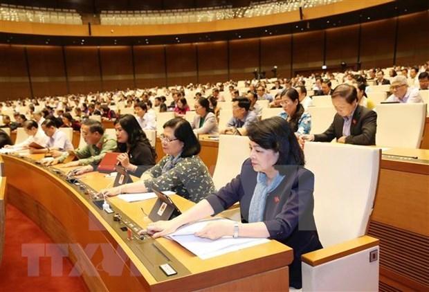 Prosigue Parlamento de Vietnam debates sobre proyectos legales hinh anh 1