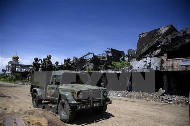 Ejercito de Filipinas abate a seis presuntos terroristas hinh anh 1