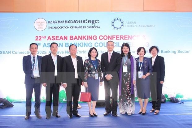 Participa Vietnam en conferencia bancaria de ASEAN en Camboya hinh anh 1