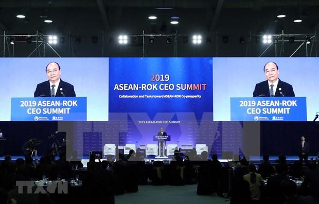 Confia Vietnam en futuro de nexos comerciales ASEAN-Corea del Sur hinh anh 1