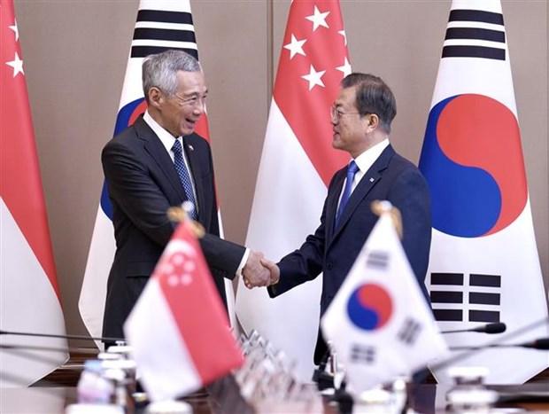 Fortalecen Corea del Sur y Singapur cooperacion en construccion de ciudades inteligentes hinh anh 1