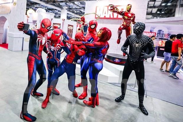 Celebraran Convencion Internacional de Comics por primera vez en Singapur hinh anh 2