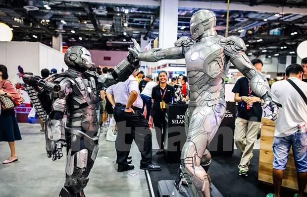 Celebraran Convencion Internacional de Comics por primera vez en Singapur hinh anh 1