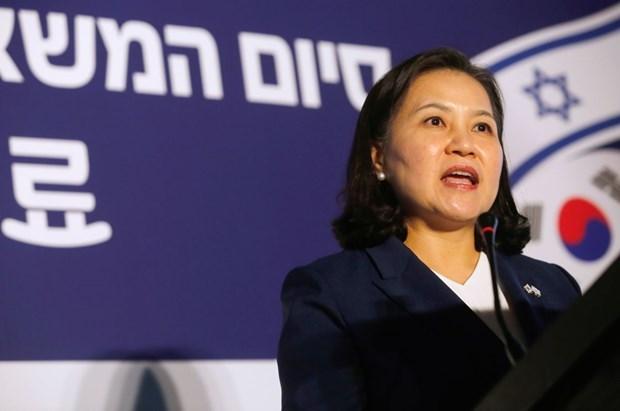 Acuerdan Corea del Sur y Camboya valorar la firma de un TLC bilateral hinh anh 1