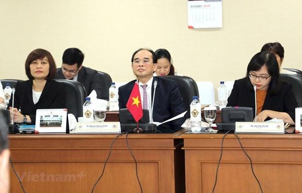 Fortalecen Vietnam e Indonesia cooperacion en auditoria hinh anh 1