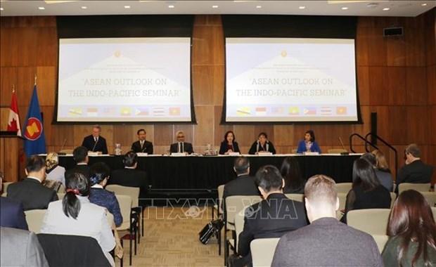 Analizan en Canada vision de la ASEAN sobre region Indo-Pacifico hinh anh 1