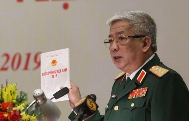 Publican Libro Blanco de Defensa de Vietnam 2019 hinh anh 1