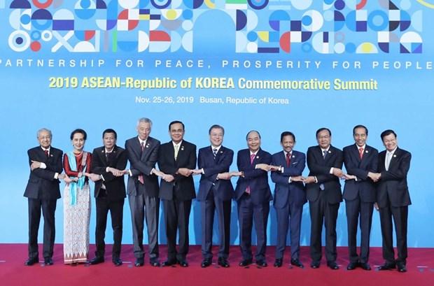 Inauguran Cumbre Especial ASEAN-Corea del Sur hinh anh 1