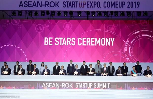Respaldara Corea del Sur a la ASEAN en desarrollo de empresas emergentes hinh anh 1