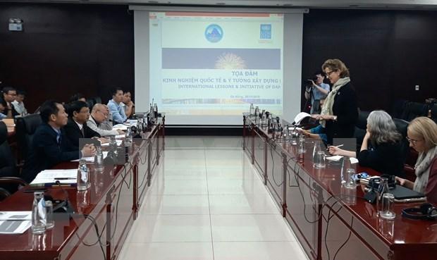Coopera Da Nang con el PNUD para la construccion de City Lab hinh anh 1