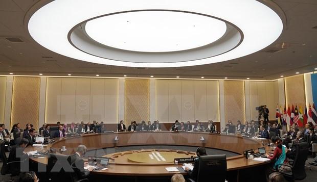 Acuerdan la ASEAN y Corea del Sur fortalecer cooperacion en asuntos globales hinh anh 1