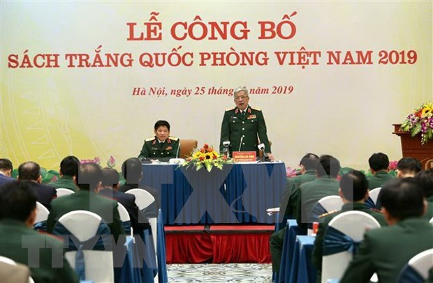 Ratifica Vietnam politica de defensa por la paz y la autodefensa hinh anh 1