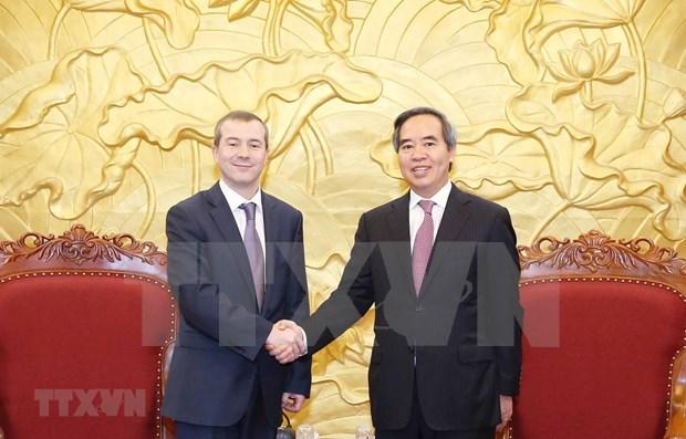 Aprecian apoyo del Banco Internacional de Cooperacion Economica a Vietnam hinh anh 1