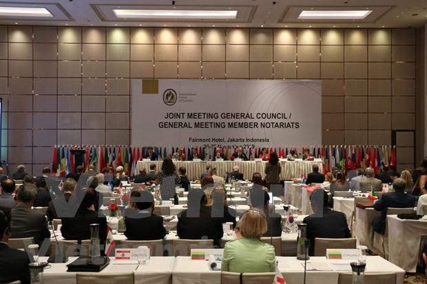Asiste Vietnam al XXIX Congreso de la Union Internacional del Notariado hinh anh 1