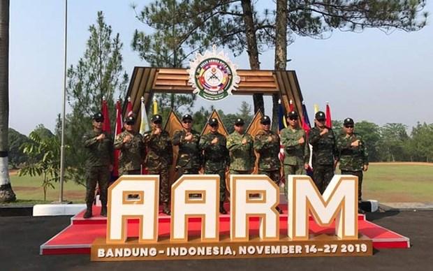 Finaliza Vietnam en tercer lugar del XXIX Torneo regional de Tiro Militar hinh anh 1