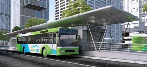 Construiran en Hanoi 600 paradas de autobus de estandar europeo hinh anh 1