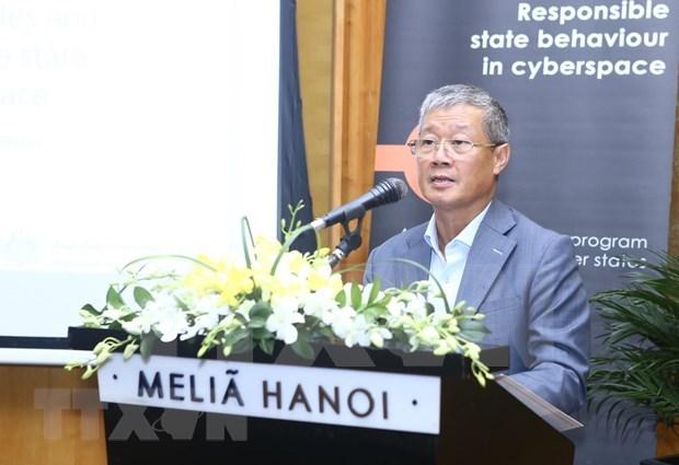 Paises de ASEAN debaten codigo de conducta y responsabilidad en el ciberespacio hinh anh 1