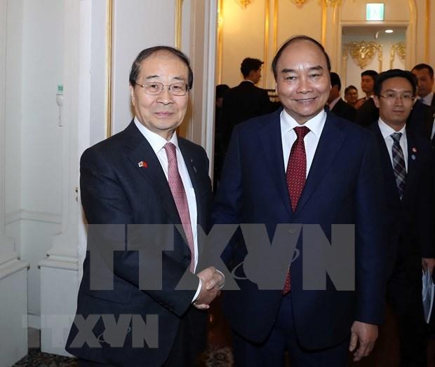 Destaca premier Xuan Phuc aportes de Asociacion de Amistad Corea del Sur- Vietnam hinh anh 1
