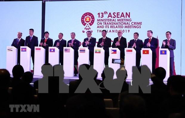 Ratifica Vietnam compromiso con lucha anticriminal en ASEAN hinh anh 1