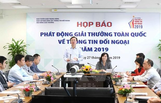Convoca Vietnam a Premio Nacional de Informacion para el Exterior hinh anh 1