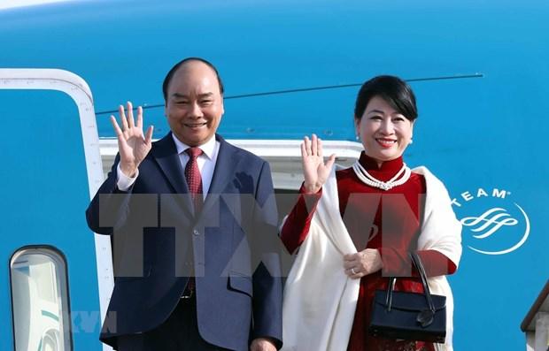 Inicia primer ministro de Vietnam visita oficial a Corea del Sur hinh anh 1