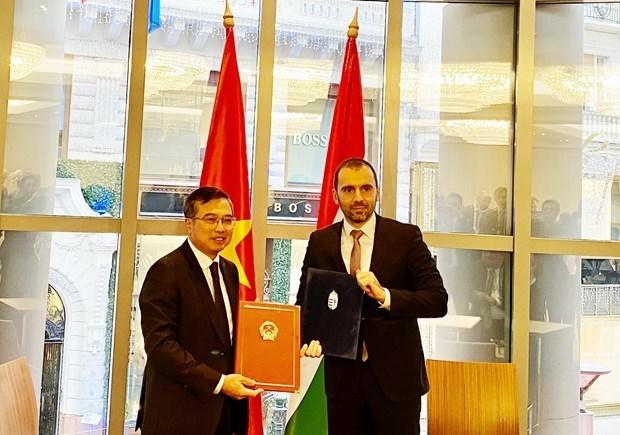 Promueven Vietnam y Hungria cooperacion economica hinh anh 1