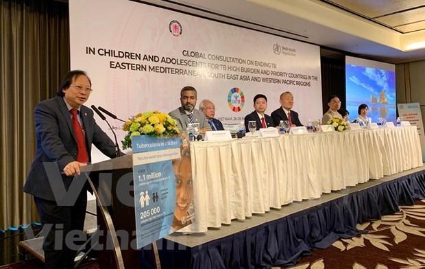 Debaten en Vietnam sobre medidas para erradicar la tuberculosis infantil hinh anh 1