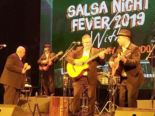 Hechiza la musica tradicional cubana al publico en Hanoi hinh anh 1