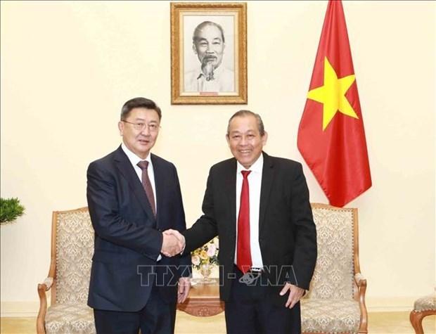 Vietnam considera a Mongolia socio importante, afirma vicepremier hinh anh 1