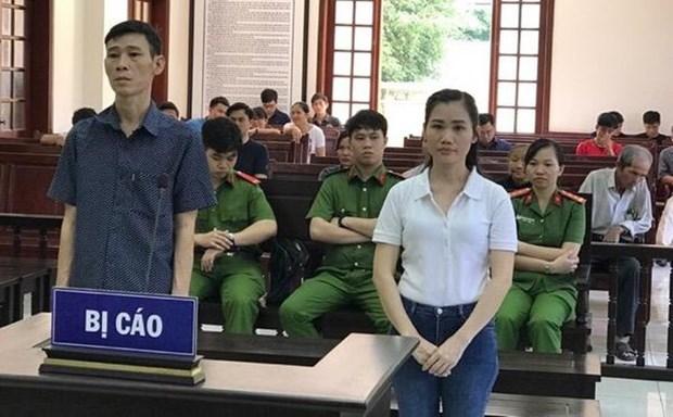 Condenan a nueve anos de prision a acusados de divulgar informaciones antiestatales hinh anh 1