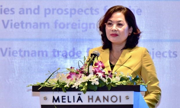 Destacan papel de banco IBEC en impulso de comercio internacional hinh anh 1