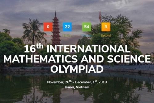Celebran por primera vez en Hanoi Olimpiada Internacional de Matematicas y Ciencias hinh anh 1