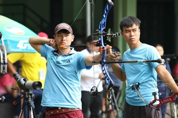 Tiro con arco de Vietnam conquista primera medalla de plata en torneo regional hinh anh 1