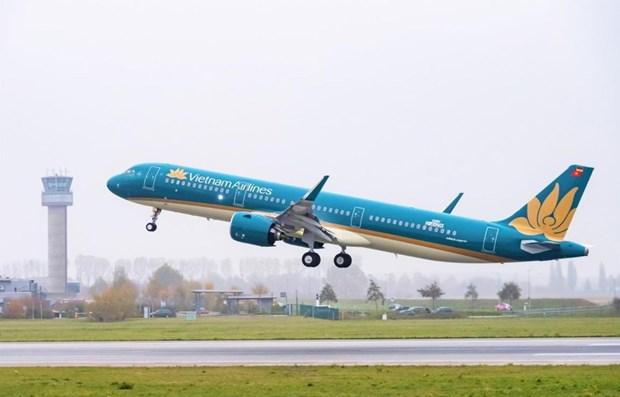 Vietnam Airlines inaugura nuevo vuelo directo entre Da Nang y ciudad china de Chengdu hinh anh 1