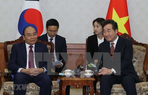 Vietnam concede importancia a lazos con Corea del Sur, afirma premier hinh anh 1