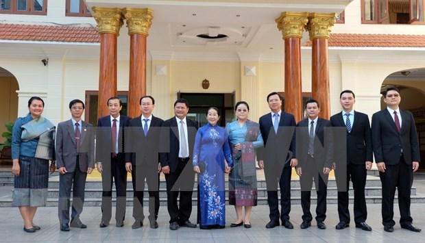 Conmemoran en Ciudad Ho Chi Minh Dia Nacional de Laos hinh anh 1