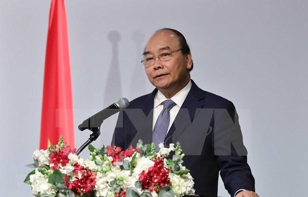 Reafirma primer ministro de Vietnam apoyo a Nueva Politica hacia el Sur de Seul hinh anh 1