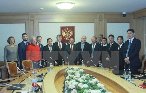 Robustecen nexos los Partidos Comunistas de Vietnam y Rusia hinh anh 1