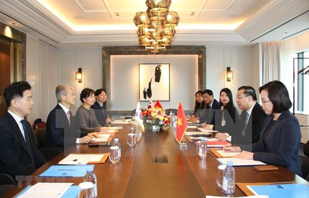 Firman Vietnam y Corea del Sur acuerdo para el copatrocinio de investigaciones conjuntas hinh anh 1