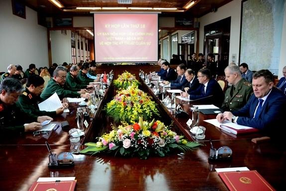 Debaten Vietnam y Belarus sobre ampliacion de la cooperacion tecnica militar hinh anh 1