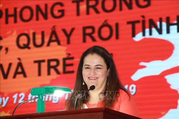 Redoblan en Vietnam esfuerzos contra la violencia sexual hinh anh 1