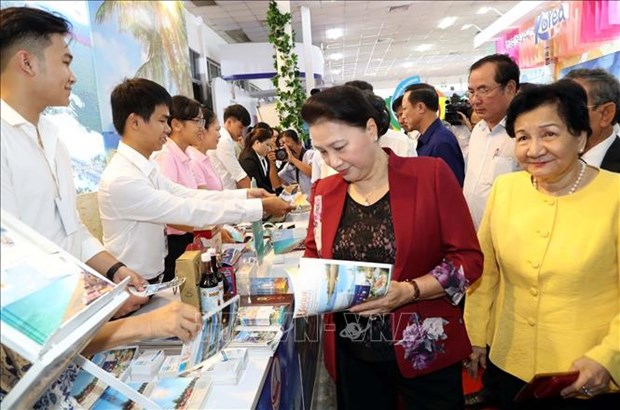 Inauguran mayor feria turistica del Delta del rio Mekong hinh anh 1