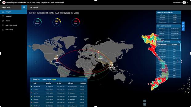 Presentan en Vietnam sistema de ciberseguridad para gobierno electronico hinh anh 1