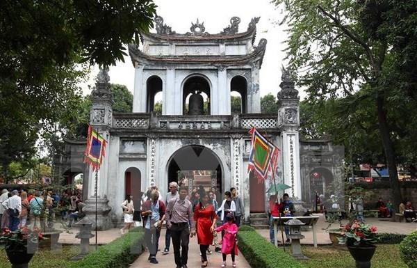 Recibe Hanoi a mas de 26 millones de turistas en 11 meses de 2019 hinh anh 1