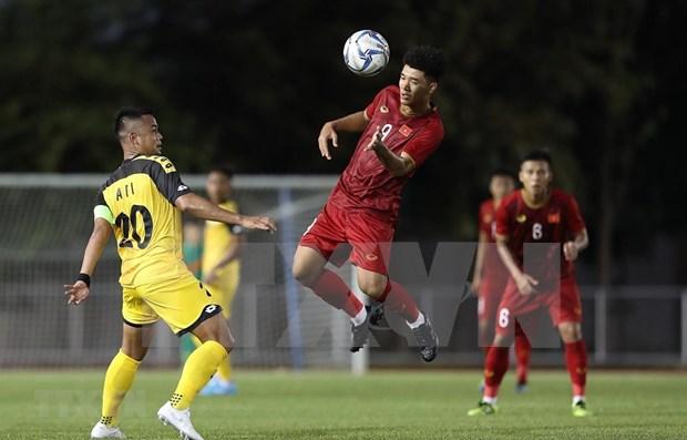 Destaca prensa sudcoreana actuacion del equipo vietnamita de futbol en SEA Games 30 hinh anh 1