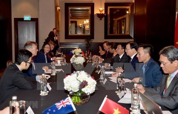 Fortalecen Vietnam y Nueva Zelanda la asociacion integral hinh anh 1
