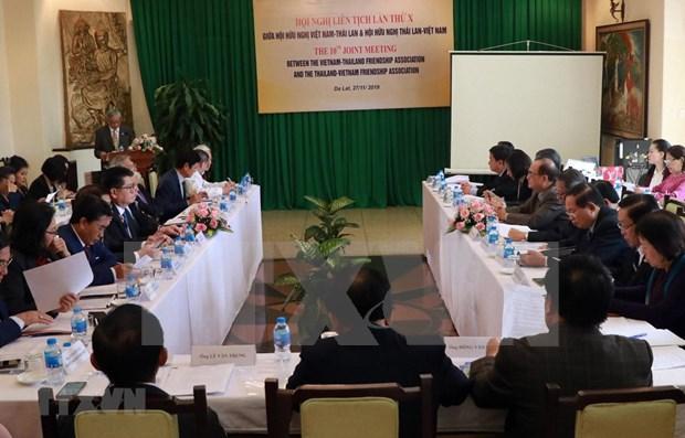 Impulsan asociacion estrategica entre Vietnam y Tailandia hinh anh 1