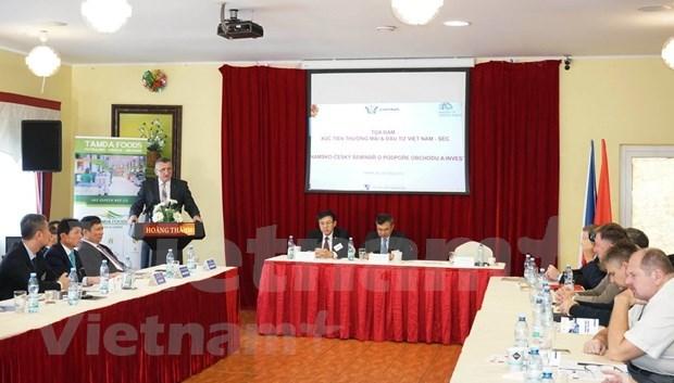 Fortalecen cooperacion economica Vietnam y la Republica Checa hinh anh 1