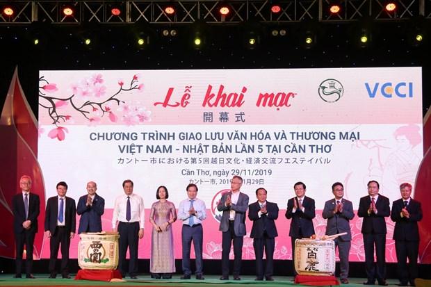 Celebran Intercambio de Cultura y Comercio Vietnam-Japon hinh anh 1